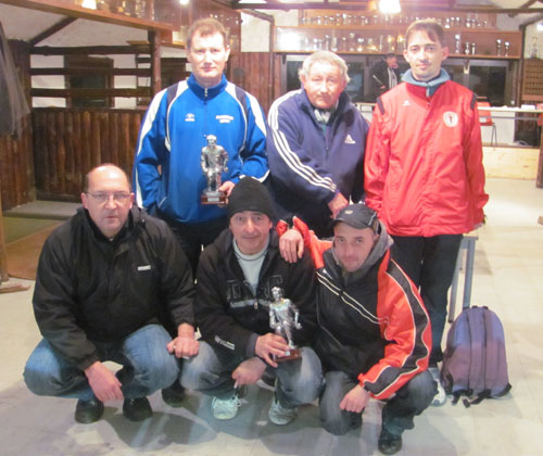 Vainqueur du Grand Prix de pétanque de l'asptt Lorient FFPJP