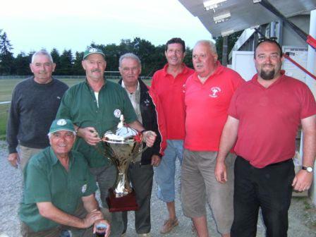 Récompenses des vainqueurs et finalistes de ce championnat vétéran 2009