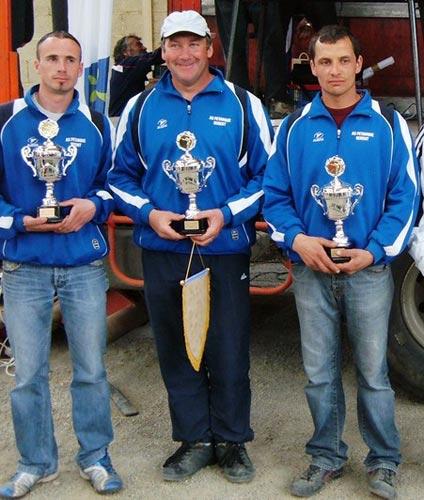 Vice-champions de Bretagne de pétanque 2009 à Pleudihen sur Rance