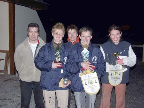 Les finalistes de ce championnat à Allaire