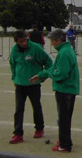 Jean Yves Le Poulichet et Claudia Le Bihan