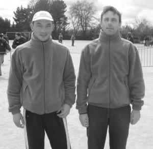 Kevin Le Grand et Patrice Lomenech