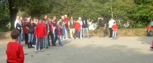 Parties de championnat des clubs de jeunes à Lorient.