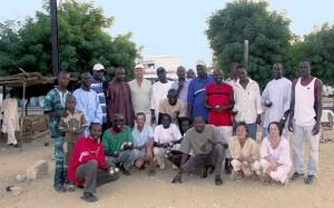 Champions de pétanque au Sénégal