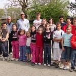 Les équipes jeunes de l'ASPTT Lorient et la Pétanque Lanestérienne