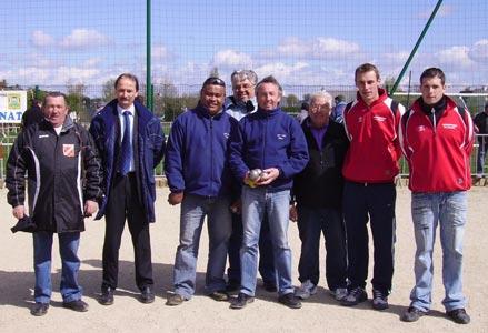 Finalistes du championnat doublette petanque 2008