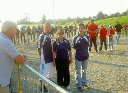 Michelle Stephant et ses deux fils