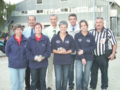 Finalistes du championnat départemental 2010 à Lorient