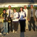 Championnes du Morbihan doublette féminine 2011 à Quiberon