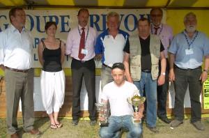 Champion du Morbihan de pétanque en individuel senior 2011