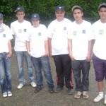 Pétanqueurs juniors du Morbihan à Fougères en Trophée Zone 5