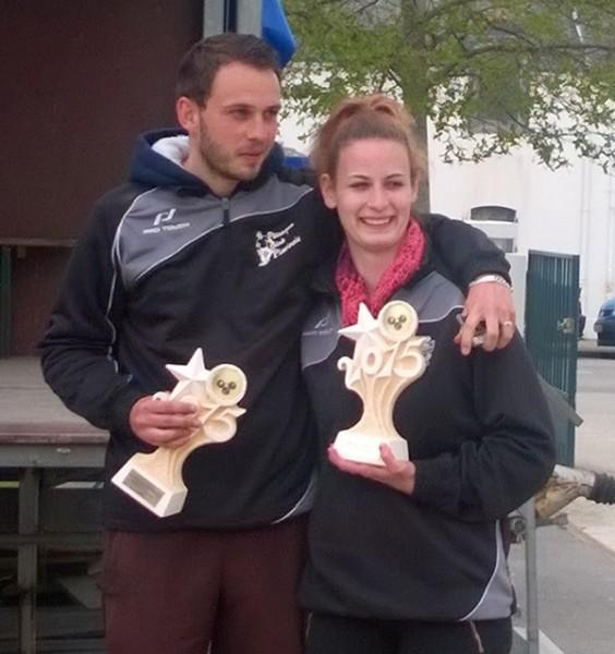 champions mixte de petanque 2015