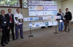 Champion et finaliste de Tête à tête départemental du Morbiha Pétanque