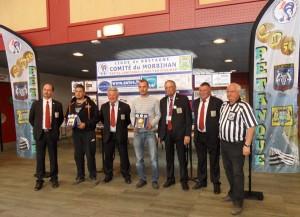 Champions du Morbihan tête à tête 2014 de petanque