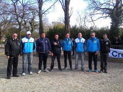 equipes du Morbihan au championnat de France de petanque à Lanester