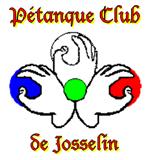 Pétanque Club de Josselin : le logo du club