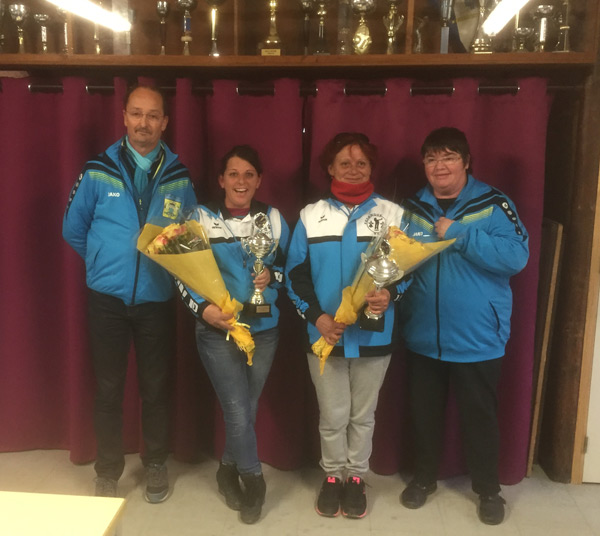 le Dily et Fontaine championnes doublette feminine