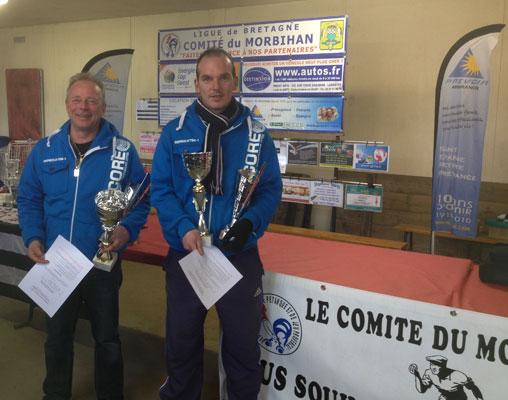 Roger Le Félic et Angélo Coppola champions doublette 2013
