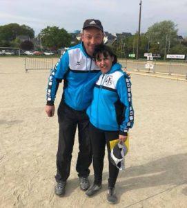 Kevin Legrand et Sophie Ronco champions doublette mixte 2018