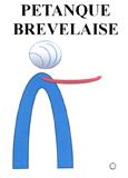 Pétanque Brévelaise : logo du club
