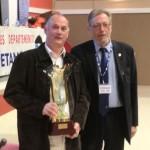 Remise du trophée de la Coupe du Morbihan des clubs de pétanque