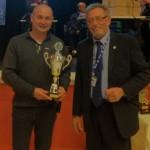 Remise du trophée de vice-champion du championnat des clubs de pétanque