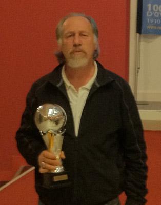Jacky Labbé de la pétanque lanestérienne, meilleur vétéran 2011