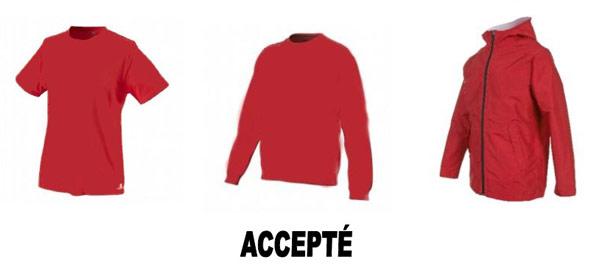 Tenue de petanque uniforme