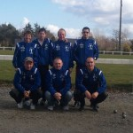 équipe de la pétanque pontivyenne en CDC1 2012 ffpjp