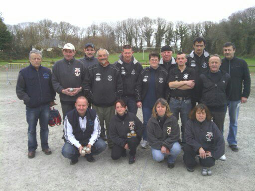 Pétanque gourinoise et Pétanq'club Locmiquélic