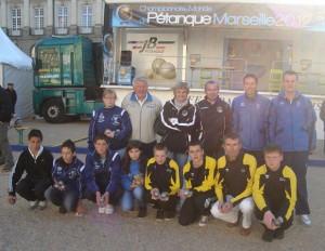 Pétanque Tour 2012 à Rennes avec Julien Lamour et Damien Hureau