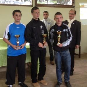 Finalistes junior du club de la pétanque brévelaise
