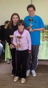 Les finalistes triplette minime 2012