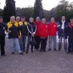Finale du championnat du Morbihan de pétanque triplette vétéran 2012