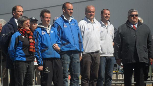 Finale du championnat de Bretagne de pétanque à Ploudaniel en 2012