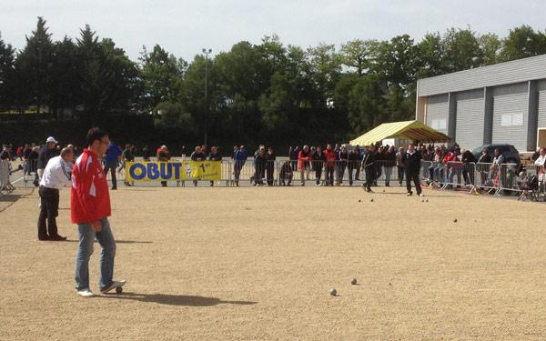 Quart de finale du championnat de Bretagne de pétanque TaT 2012