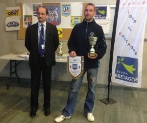 Vice champion de ligue individuel de pétanque à Pontivy 2012