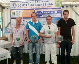 Vainqueurs du concours A le dimanche à Larmor Plage