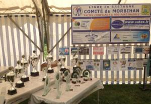 Récompenses du Grand Prix de pétanque du Morbihan