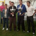 Vainqueurs du Régional 2012 de pétanque à Larmor Plage
