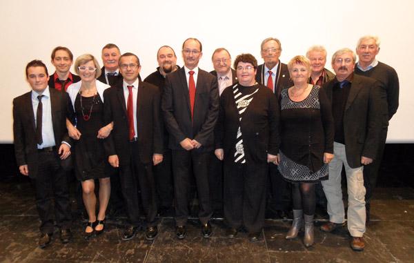 Les membres du comité du Morbihan de pétanque pour 2013 - 2016