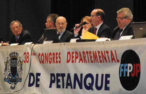 38e congrès départemental de pétanque et JP du Morbihan FFPJP