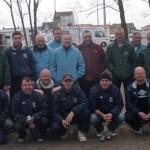 Les équipes de Carnac et Partenay en CNC3 pétanque 2012