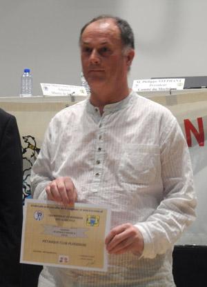 Daniel Doucet de la Pétanque Ploerinoise championne de CDC2