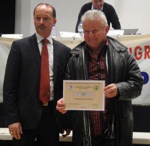Marcel Tartary pour la pétanque pontivyenne vainqueur du CDC 2012