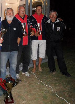 Vainqueurs du trophée doublette vétéran