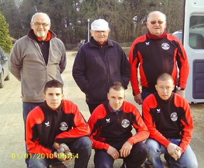 L'équipe de Chateaulin en CRC1 à Lanester
