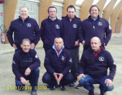 L'équipe de Plounéour Ménez en CRC1 à Lanester