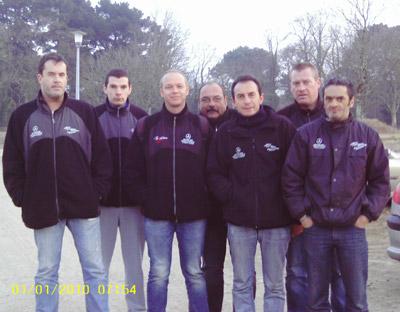 L'équipe de Trégueux en CRC1 à Lanester