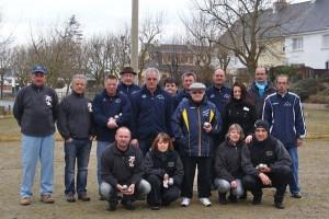 Equipes de Locmiquélic et Peillac en coupe de France de pétanque 2013